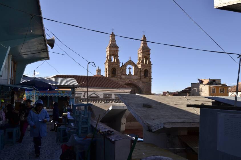 Mercato centrale Mercado Central di Potosì in Bolivia