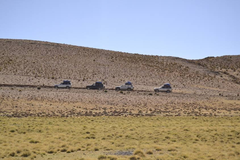 Auto 4x4 per intraprendere il tour al Salar di Uyuni