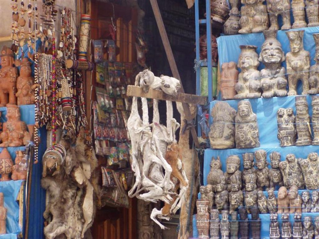 Mercato di Magia Nera di La Paz
