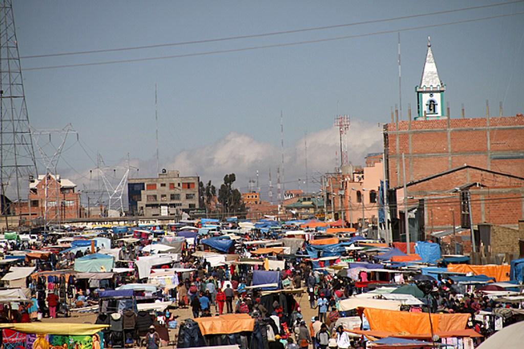 Mercato El Alto di La Paz