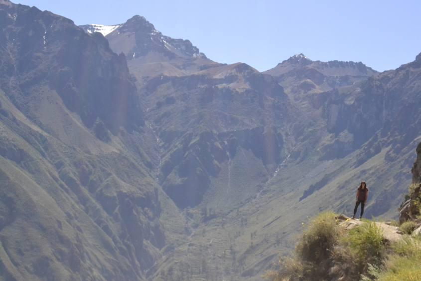 Vista sul Canyon del Colca