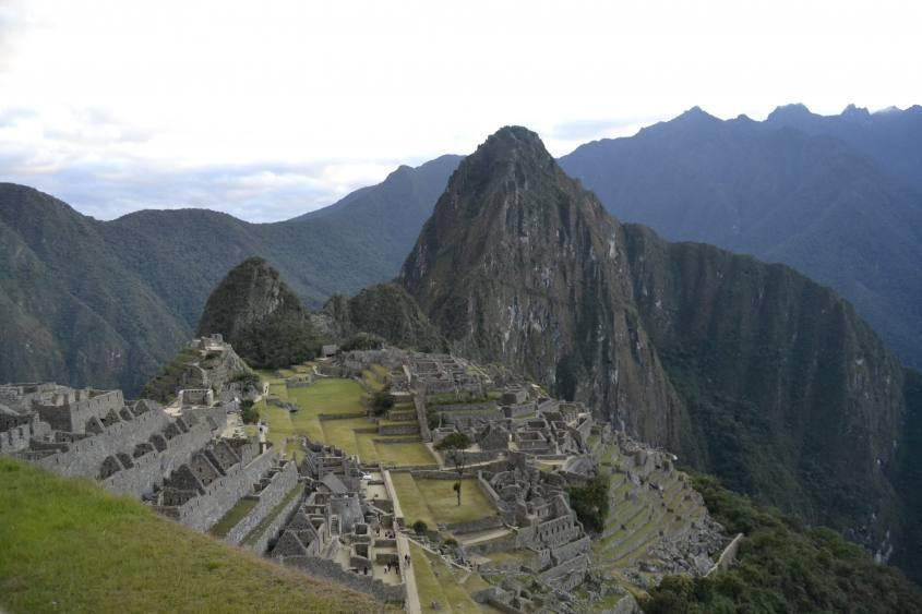 Machu Picchu in tutto il suo splendore