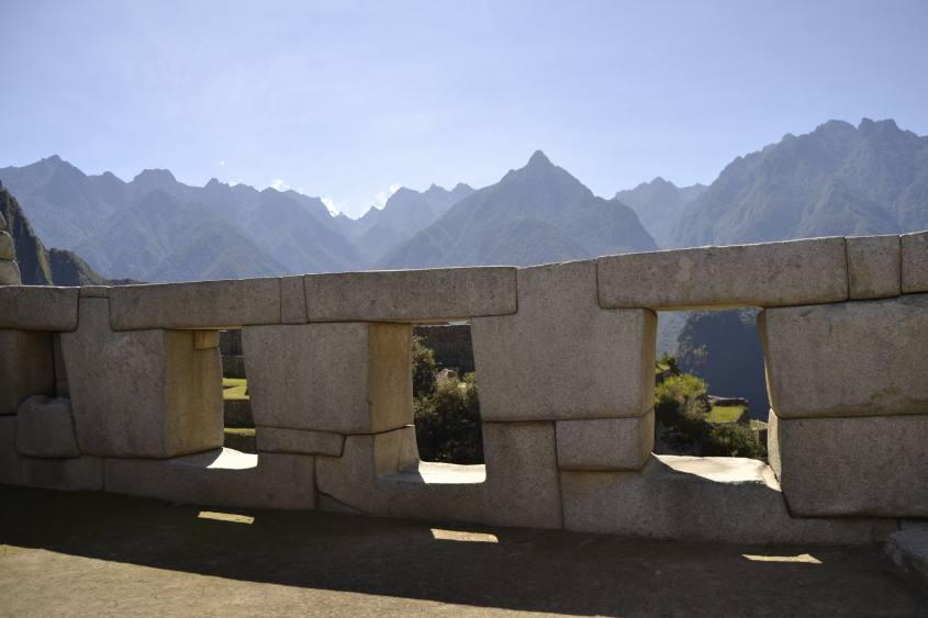 Tempio delle tre finestre di Machu Picchu