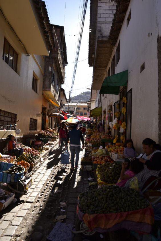 Il mercato di San Pedro