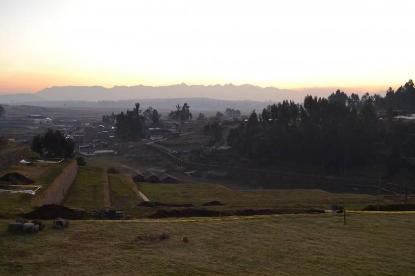 Terrazzamenti di Chinchero nel tour al Valle Sagrado di Cusco