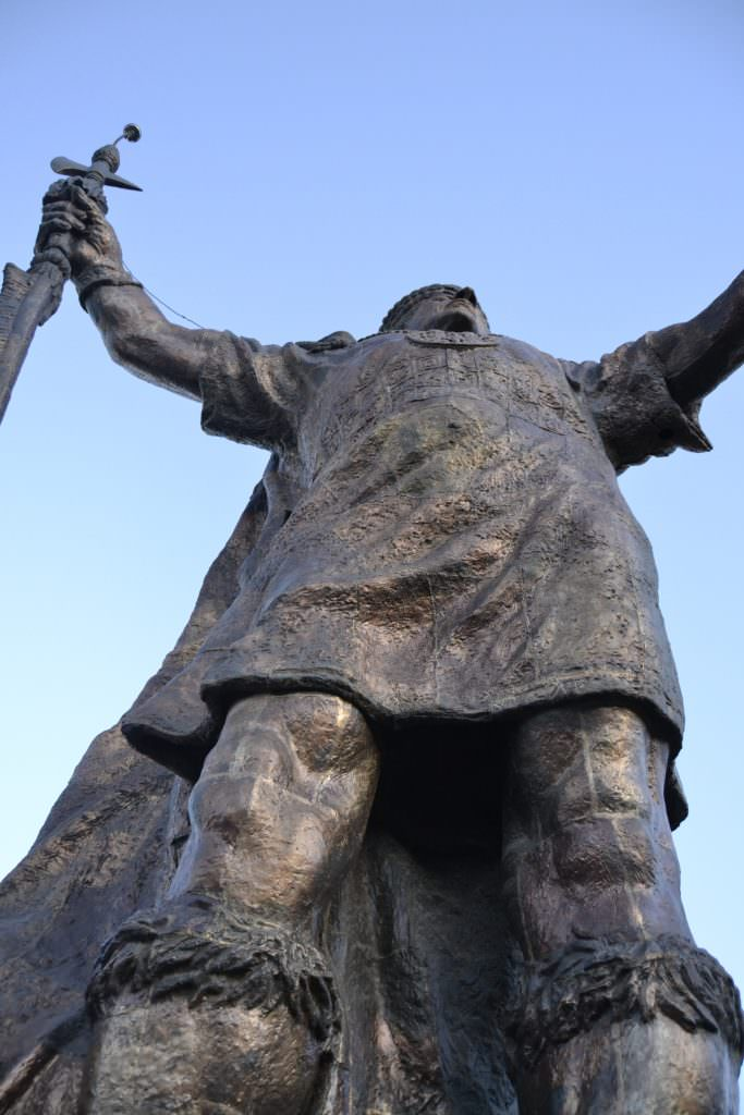 Statua Inca Cusco