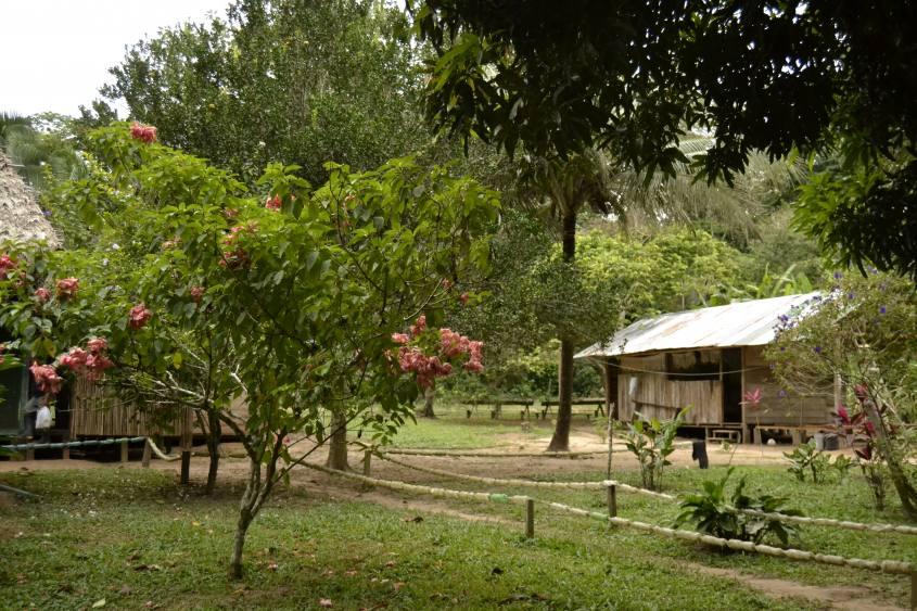 Lodge all'interno della Riserva Tambopata