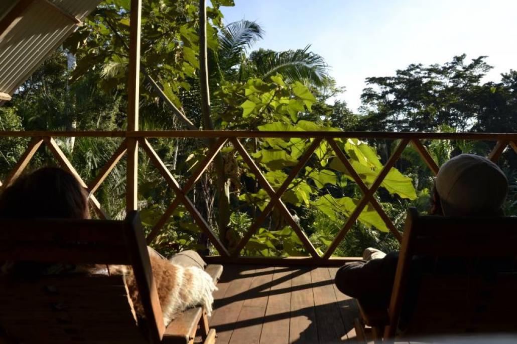 Relax nella Riserva Tambopata
