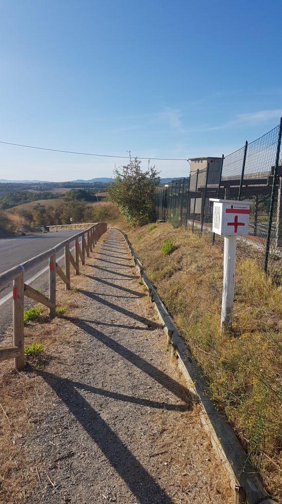 FUCECCHIO - SAN MINIATO - GAMBASSI TERME lungo la Via Francigena