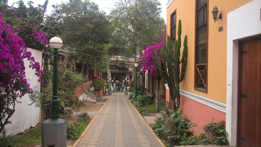 Quartiere Barranco Lima