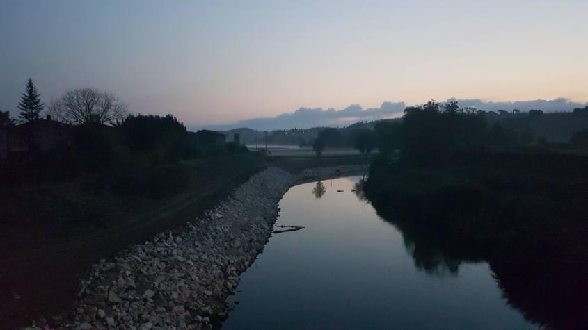 Ponte d'Arbia Via Francigena