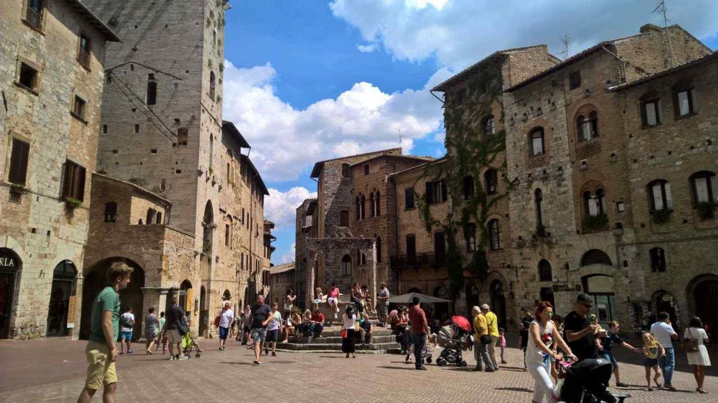 San Gimignano Via Francigena