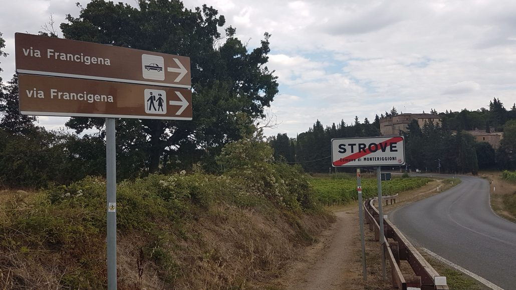 Strove Via Francigena