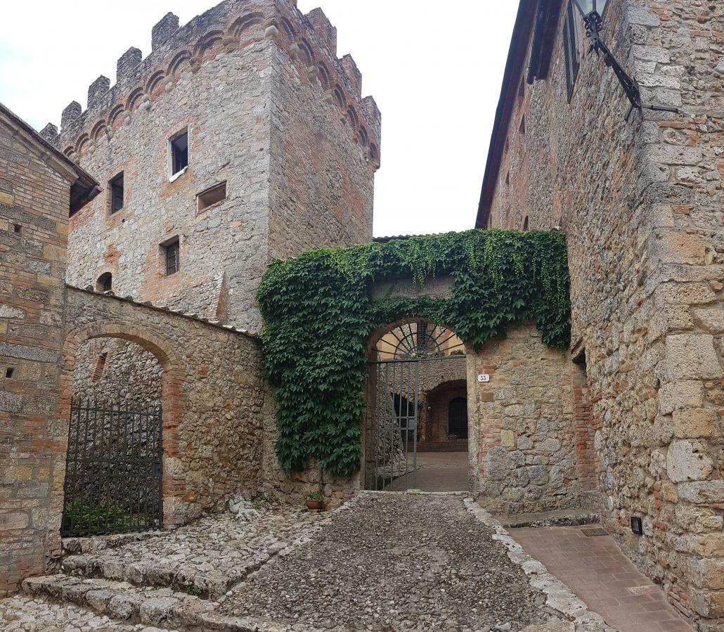 Castel Petraia Via Francigena