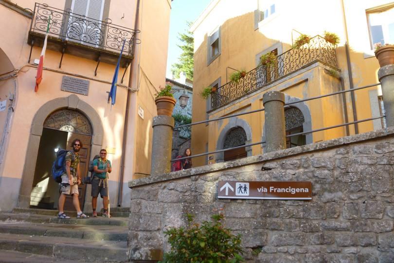 Montefiascone - Viterbo Via Francigena