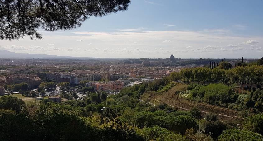 La Vista su Roma da Monte Mario