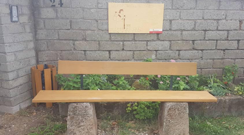Panchina del Pellegrino
