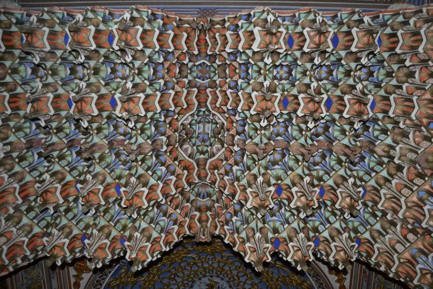 Soffitto Galleria delle Stalattiti del Castello di Sammezzano