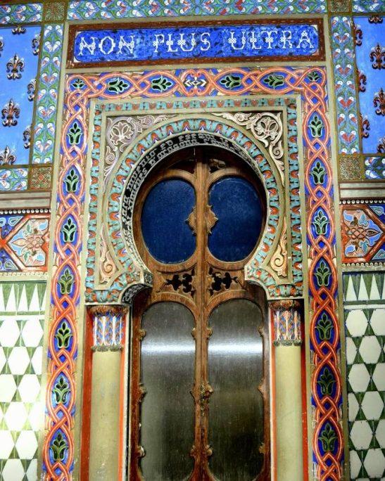 Porta Castello di Sammezzano Non Plus Ultra