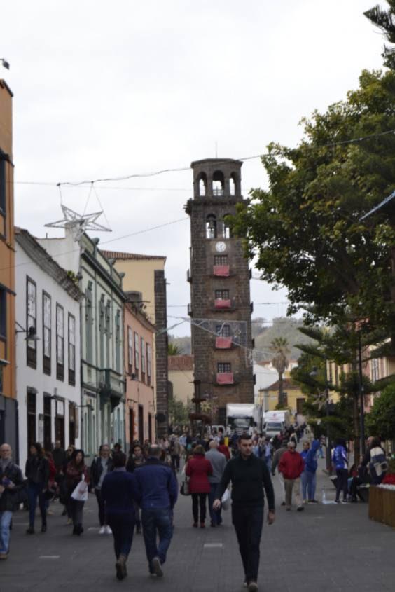 Centro città La Laguna a Tenerife Patrimonio Unesco