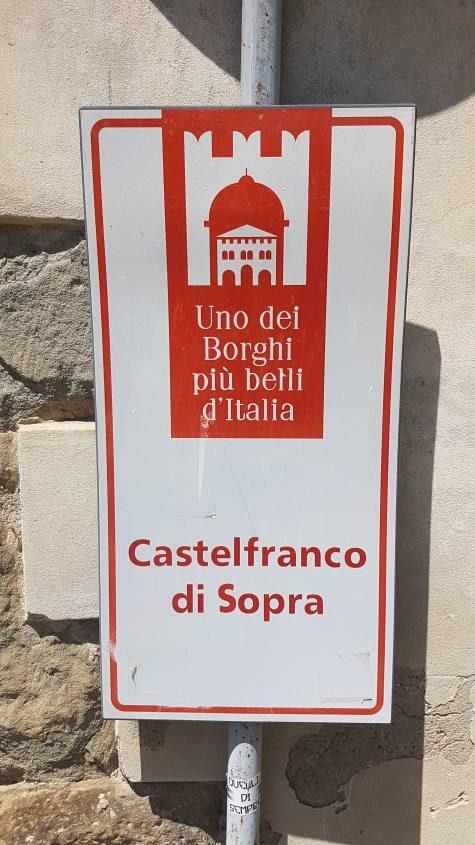 Cartello uno dei borghi più belli d'Italia
