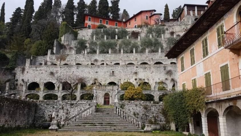 Limonaia di Palazzo Bulgheroni a Toscolano Maderno lungo il lago di Garda