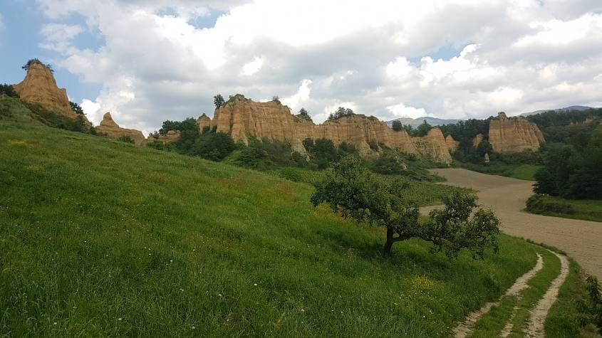 Miglior punto panoramico per apprezzare le Balze del Valdarno di Castelfranco di Sopra