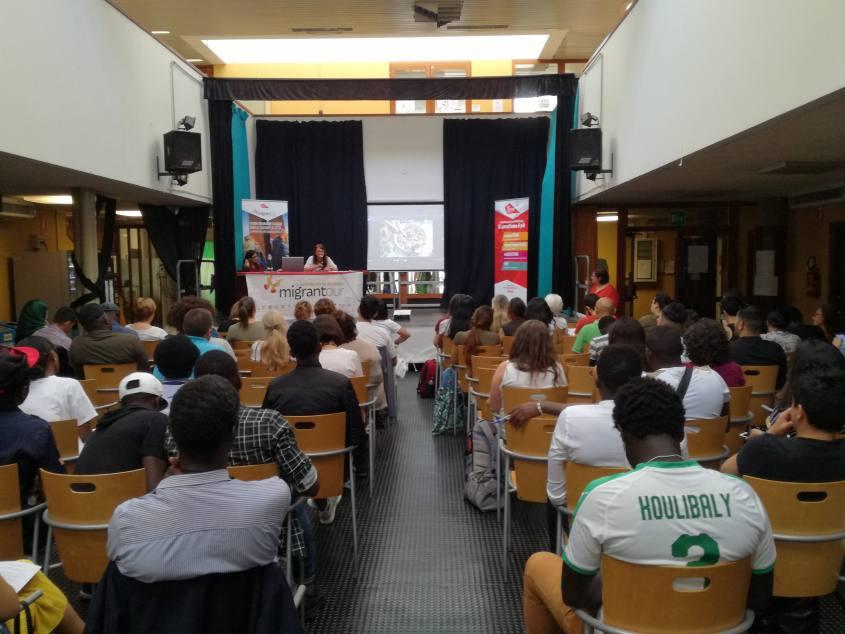 Presentazione Migrantour al Festival Itaca a Bologna