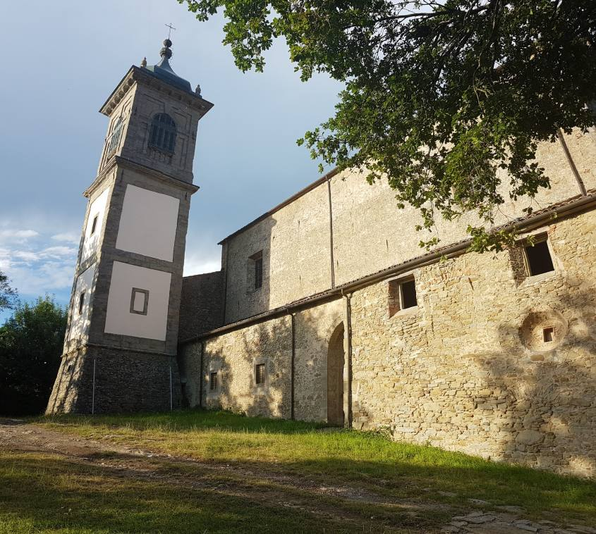 Chiesa parrocchiale di Bargi vista da fuori