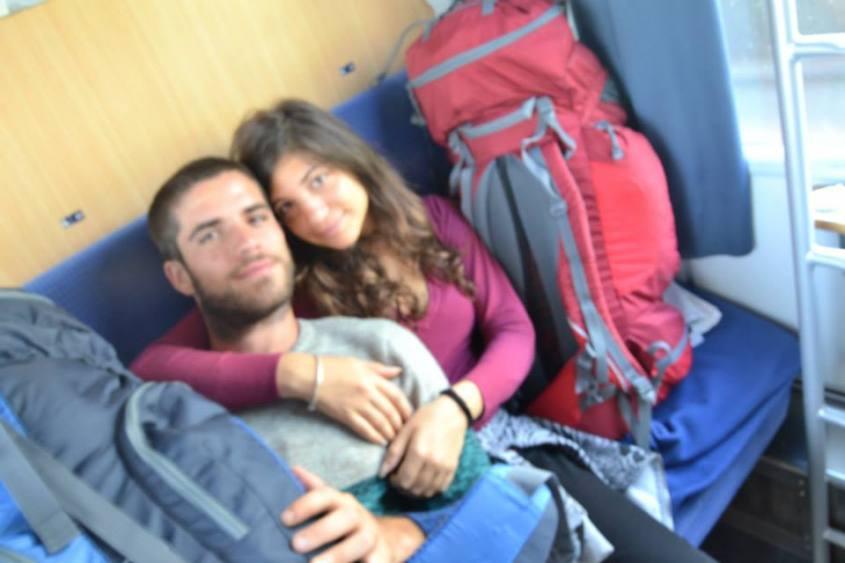 In viaggio sul treno dell'Interrail 2013
