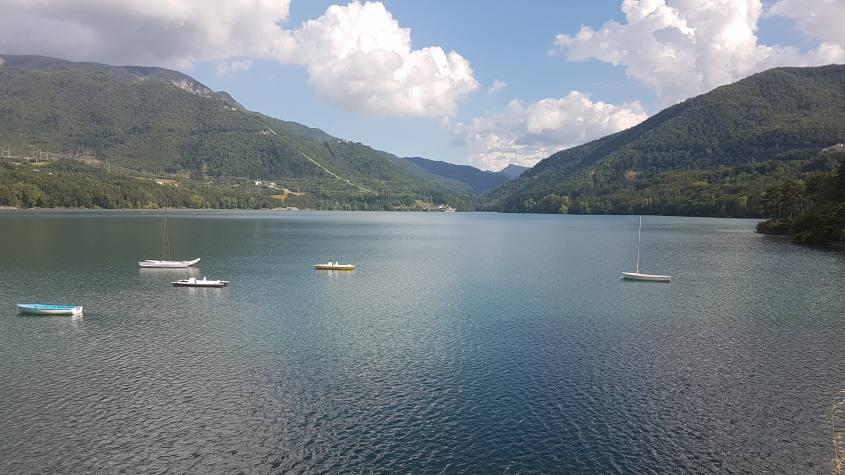 Vista del Lago di Suviana a Grizzana Morandi
