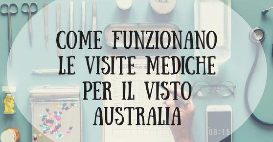 Copertina articolo Come funzionano visite mediche Visto Australia