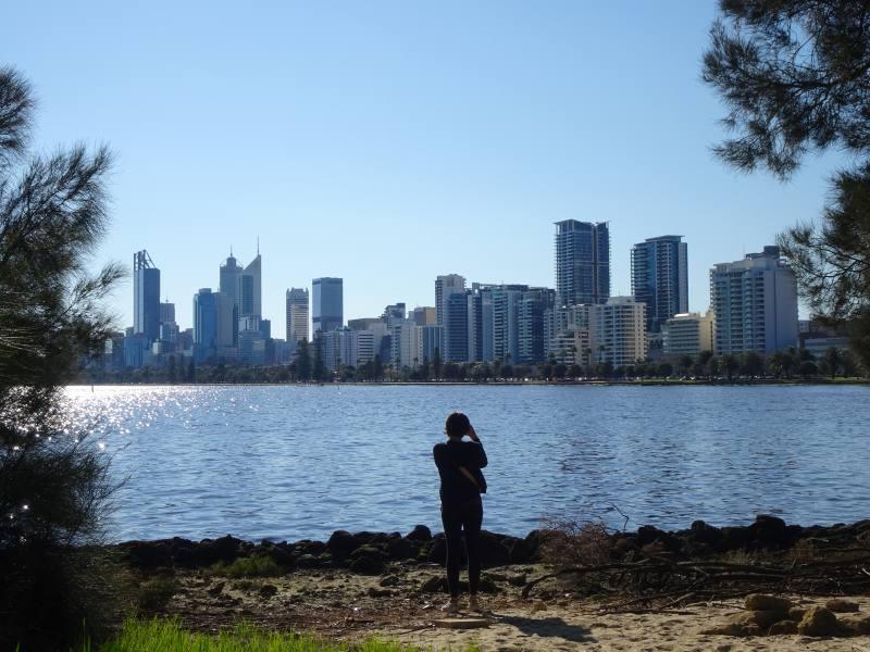 Panorama da Heirrison Island su Perth