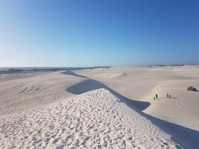 La duna di sabbia di Lancelin vista dall'alto