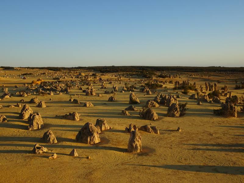 Tramonto sul Deserto dei Pinnacoli
