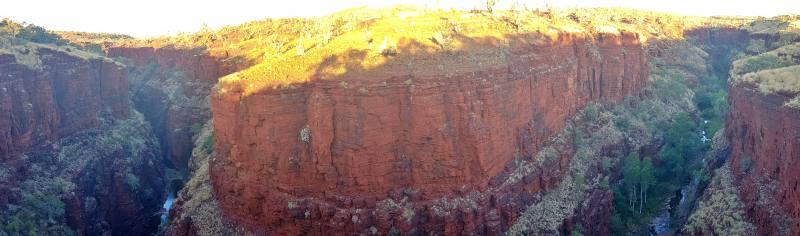 Punto panoramico Knox Gorge Lookout nel Parco di Karijini