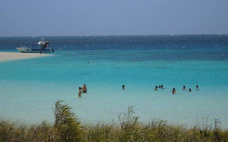 Spiaggia Bills Bay a Coral Bay in Western Australia