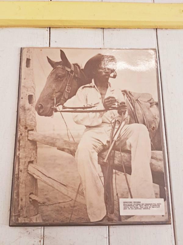 Foto storica di collezione privata ad Hamelin Pool a Shark Bay