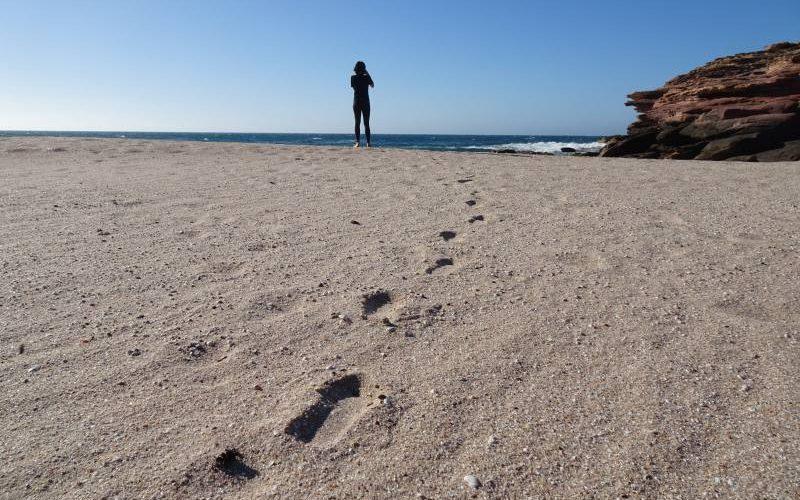 Spiaggia Eagle Gorge nel tratto costiero di Kalbarri in Western Australia