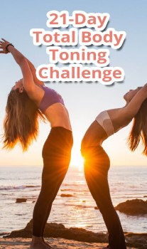 21-Day Total Body Toning Challenge