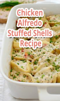 Chicken Alfredo Stuffed Shells – Recipe