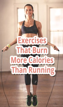 Exercises That Burn More Calories Than Running