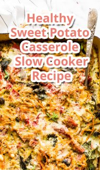 Healthy Sweet Potato Casserole Slow Cooker – Recipe