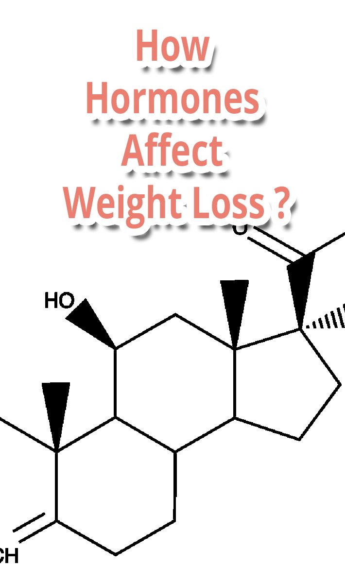 How Hormones Affect Weight Loss ?