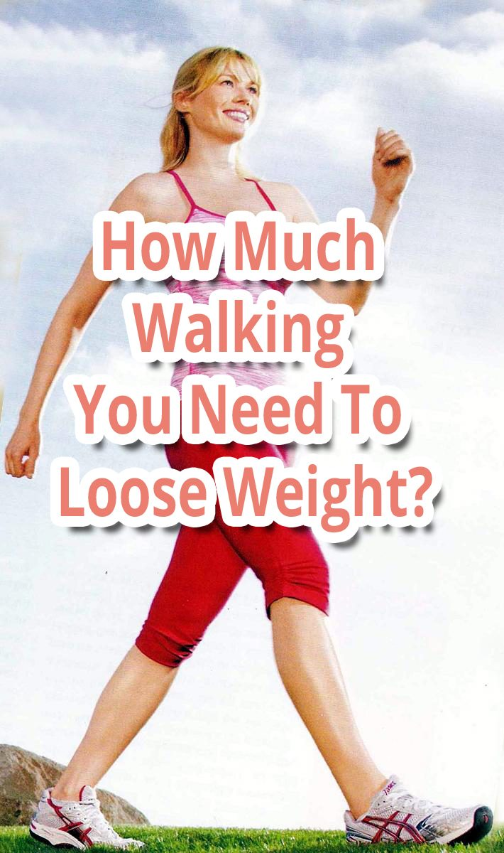 How Much Walking You Need To Loose Weight?