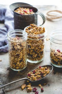 Maple Walnut Granola - Recipe