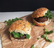 Mushroom And Olive Veggie Burgers - Recipe