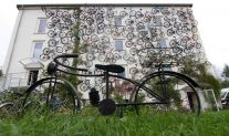 Interesting Bike-Facade In Germany