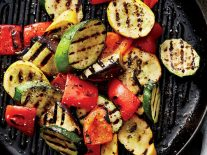 Grilled Vegetables With Walnut Sauce - Recipe