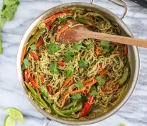 Vegan Thai: Green Curry Noodle Bowl - Recipe